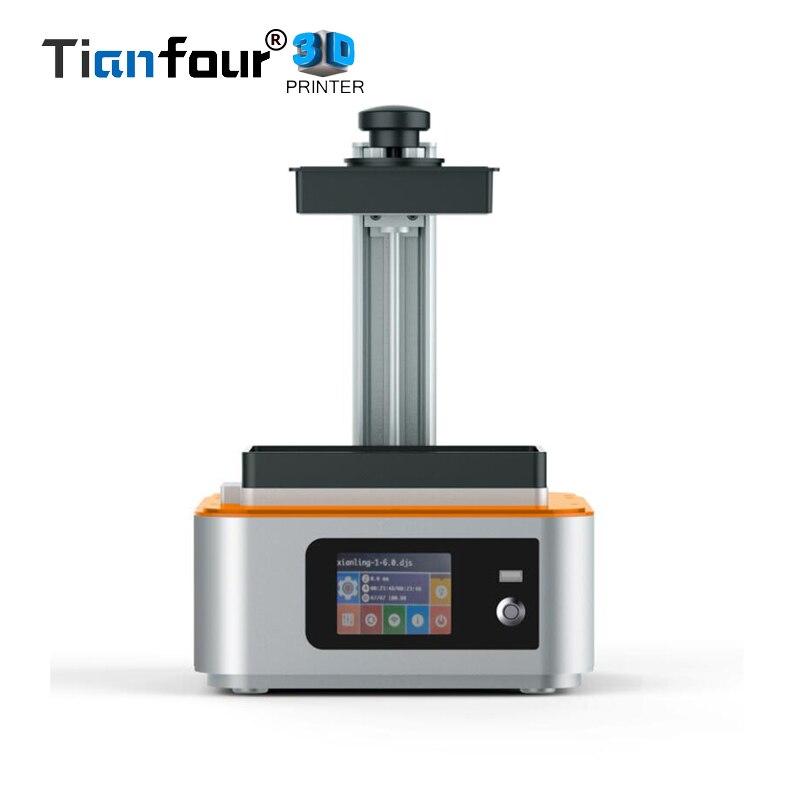 Tianfour nuovo Scultore Luce UV-Che Cura wifi SLA/LCDDLP 3d stampante di alta precisionfor Gioielli odontoiatria modello regalo