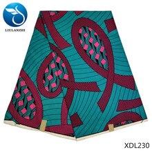 LIULANZHI Cheap price african print wax fabric polyester batik nigerian fabrics style 6yards XDL220-233