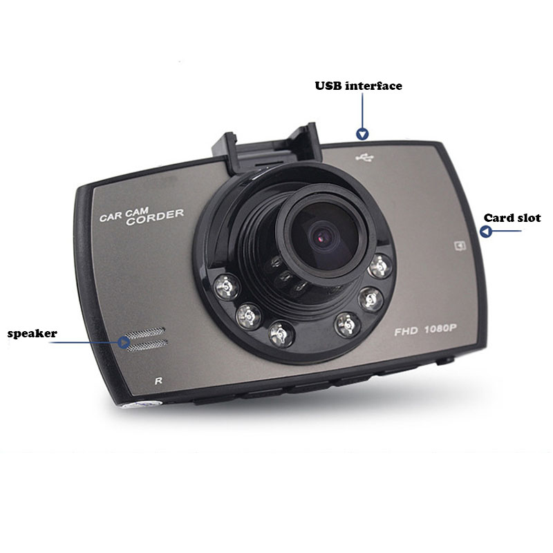 1080p High Definition Night Vision Vehicle Insurance Support Back View Mobile Detection Travel Recorder Dash Camera Car Dvr