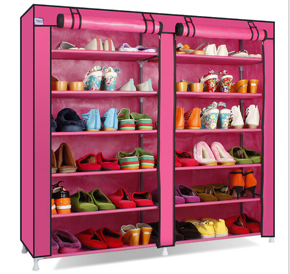 12 layers multicolor living room furniture portable shoe racks ...