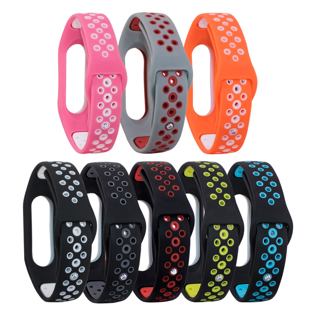 Wholesale Kids Watch Strap Replacement Silica Gel Wristband Strap Loop For Xiaomi Mi Band 2 Bracelet 15J Drop Shipping