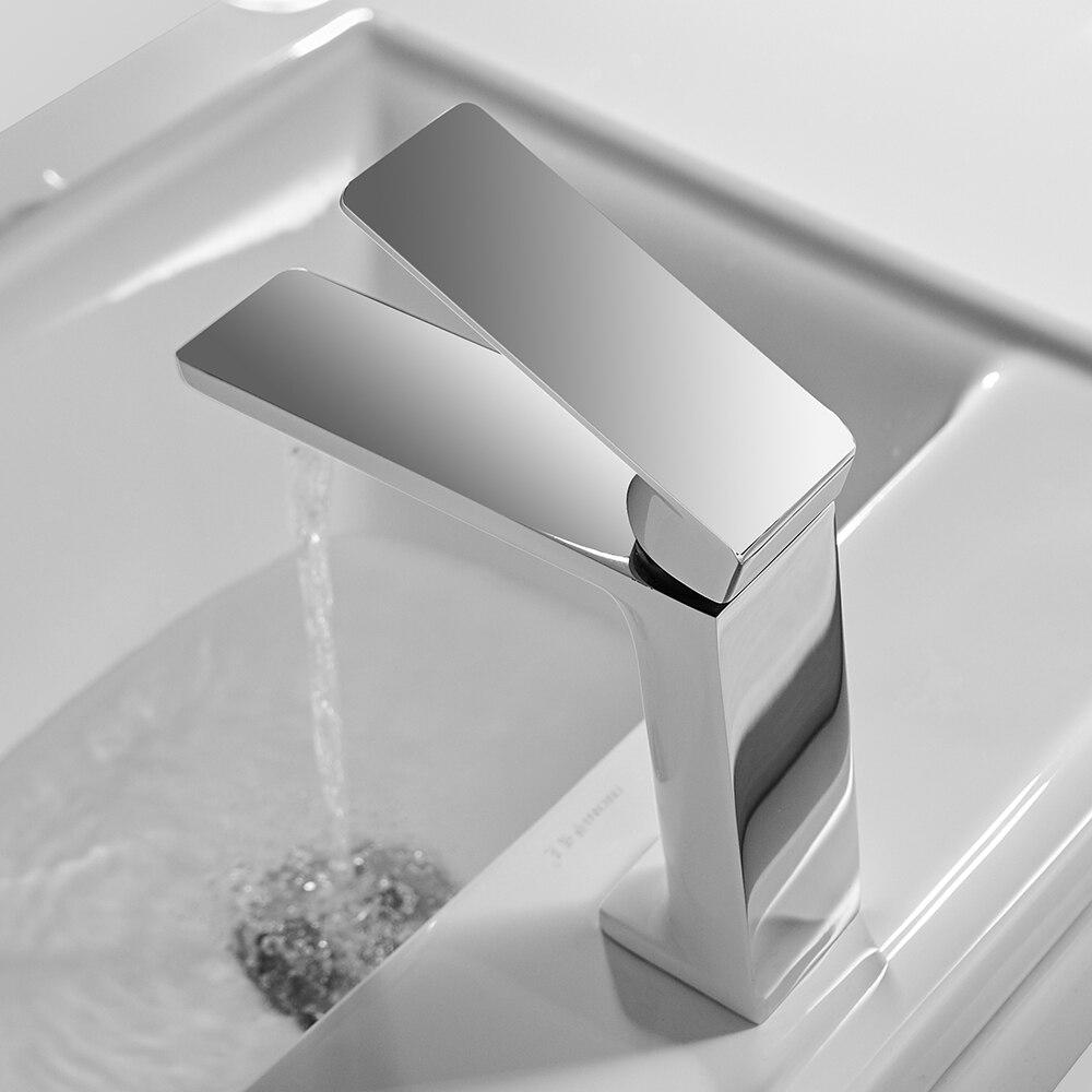 Кран для раковины ванной комнаты золотой кран с одной ручкой кран для раковины Grifo Lavabo смеситель для горячей и холодной воды кран 9922K