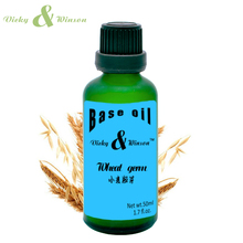 купить Vicky&winson Wheat germ oil 50ml Base Massge Oil Essential Oils Moisturizing Skin Care Products With High Quality VWJC15 дешево