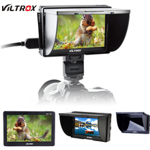 Viltrox DC-50 HD Clip-on Portable 5″ Inch TFT LCD Monitor with HDMI Video Input for Canon Nikon Sony DSLR Camera Camcorder DV