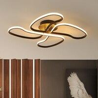 Post Modern Art LED Ceiling Lamp Creative Living Room Restaurant Bedroom Light Flower LED Ceiling Light