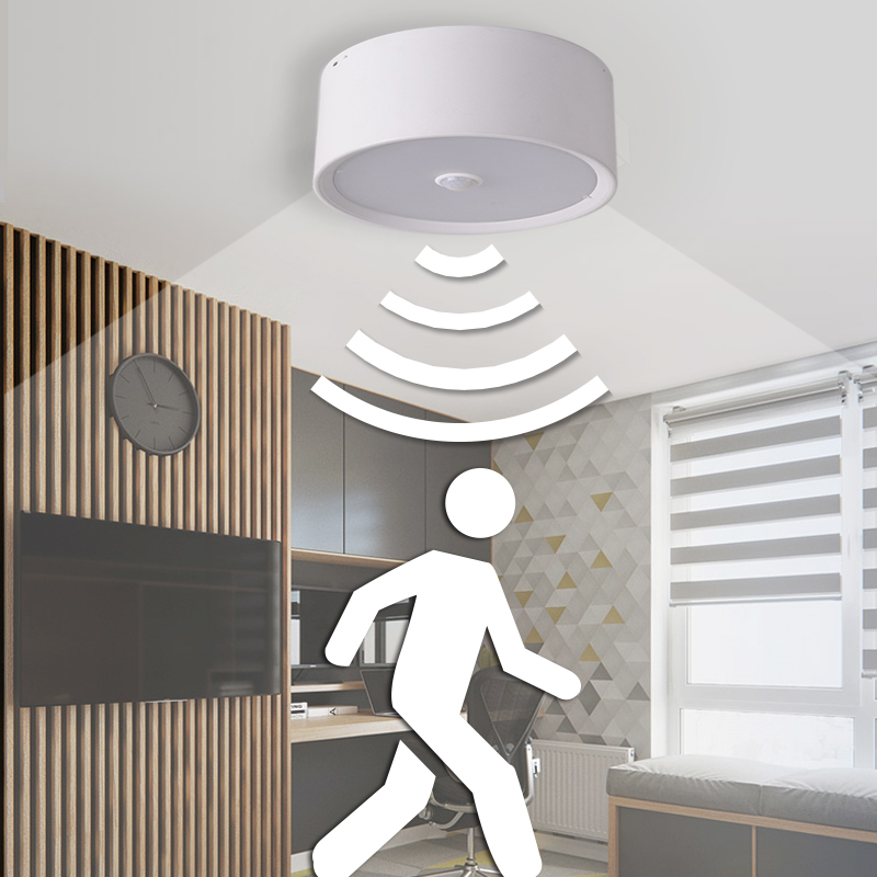 Led Downlights Surface Mounted Pir Led Downlight 10w 15w 20w Infrared Motion Sensor Led Ceiling Light Decoration Lamps Panel Light 85-265v Promoting Health And Curing Diseases
