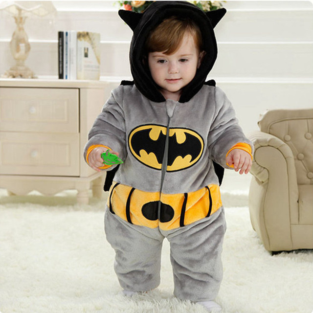 76fa1a68184 Winter Thick Girls Boys Rompers Layette New Born Overalls Baby Snowsuit  Clothing Costume Jumpsuit Coat Boy