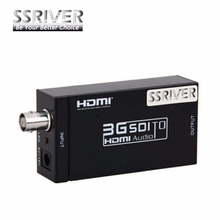 SSRIVER 3G SDI to HDMI Converter Adapter SDI Extender for driving HDMI Monitors with Power adapter  EU US UK AU Plug