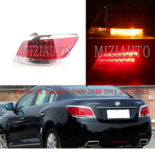 Rear Brake Light For Buick Lacrosse 2009 2010 2011 2012 2013 taillight tail lamp brake light MIZIAUTO Tail Light Assembly LED