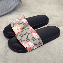 Free shipping 2017 new fashion women's shoes summer  women's sandals open toe sandals girls would flower geraniums
