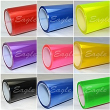 whole sale 0.3x10m(1x33ft) quality PVC filme farol headlight /tailight tint 10Rolls/lot DHL free shipping free shipping heat transfer filme vinyl pu vinyl filme made in south korea four colors for shipping