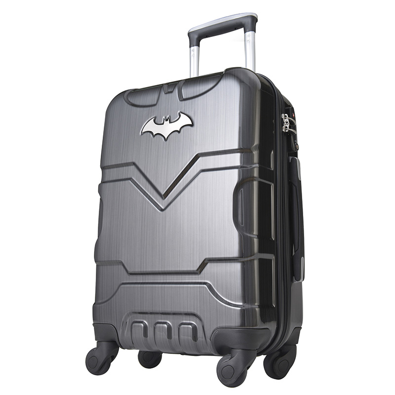Aliexpress.com : Buy Batman Men and Women Fashion Trolley Luggage ...
