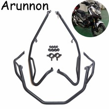 For X ADV 750 XADV X-ADV750 2017 2018 Motorcycle Protection Bar Highway Bars Engine Guard Protector Crash Bar bumpers New rear highway crash bars guard protection for trunk protection for bmw r1200rt 2005 2013 silver