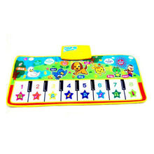 Baby Musical Piano Mat Music Carpet Newborn Crawling Blanket Touch Play Toy Animal Singing Gym blanket Rug Gift(China)