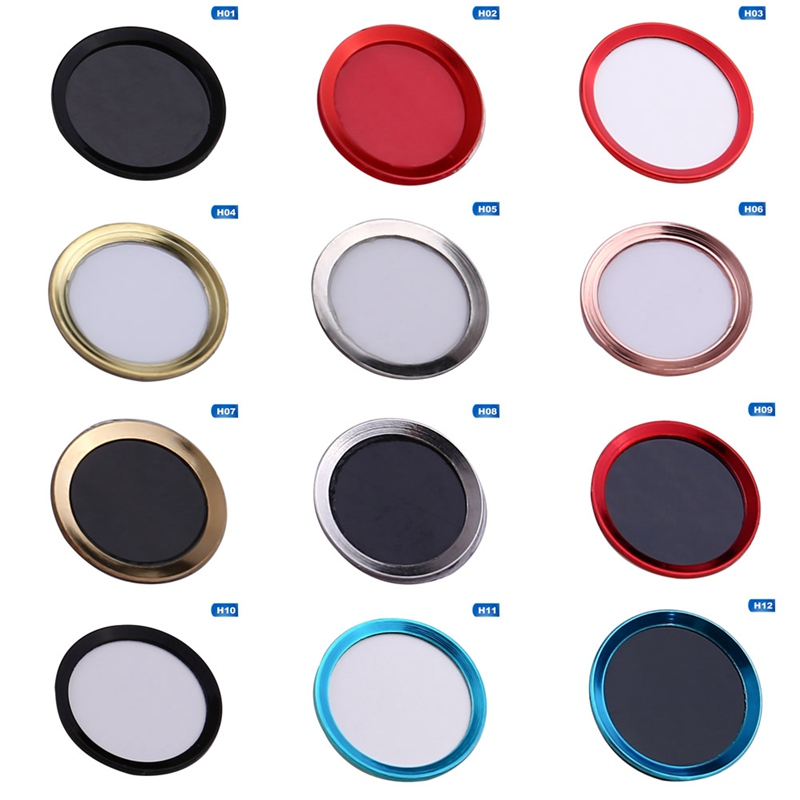 Home Button Sticker Protector Keypad Keycap For IPhone 5s 5 4 6 6s 7 8 Plus Support Fingerprint Unlock Touch ID