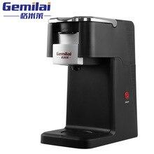 Одна кнопка Новый K-CUP капсула полностью автоматическая кофемашина Эспрессо, Электрический Капучино/кофе латте чайник/кофеварка