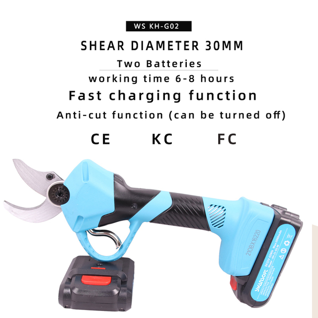 Electric scissors activities Garden trimming tools Electric fruit tree Cordless pruning shears