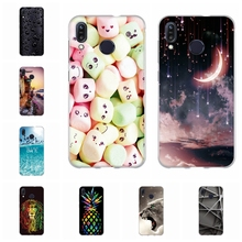 For Asus Zenfone Max M1 ZB555KL Case Soft Silicone Cover Dog Pattern Funda