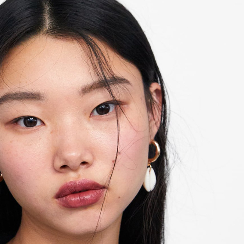 AENSOA Elegant Shell Alloy Drop Earrings ZA Cute Chic Statement Dangle Earrings for Women Wedding Party Gifts Irregular Jewelry 6