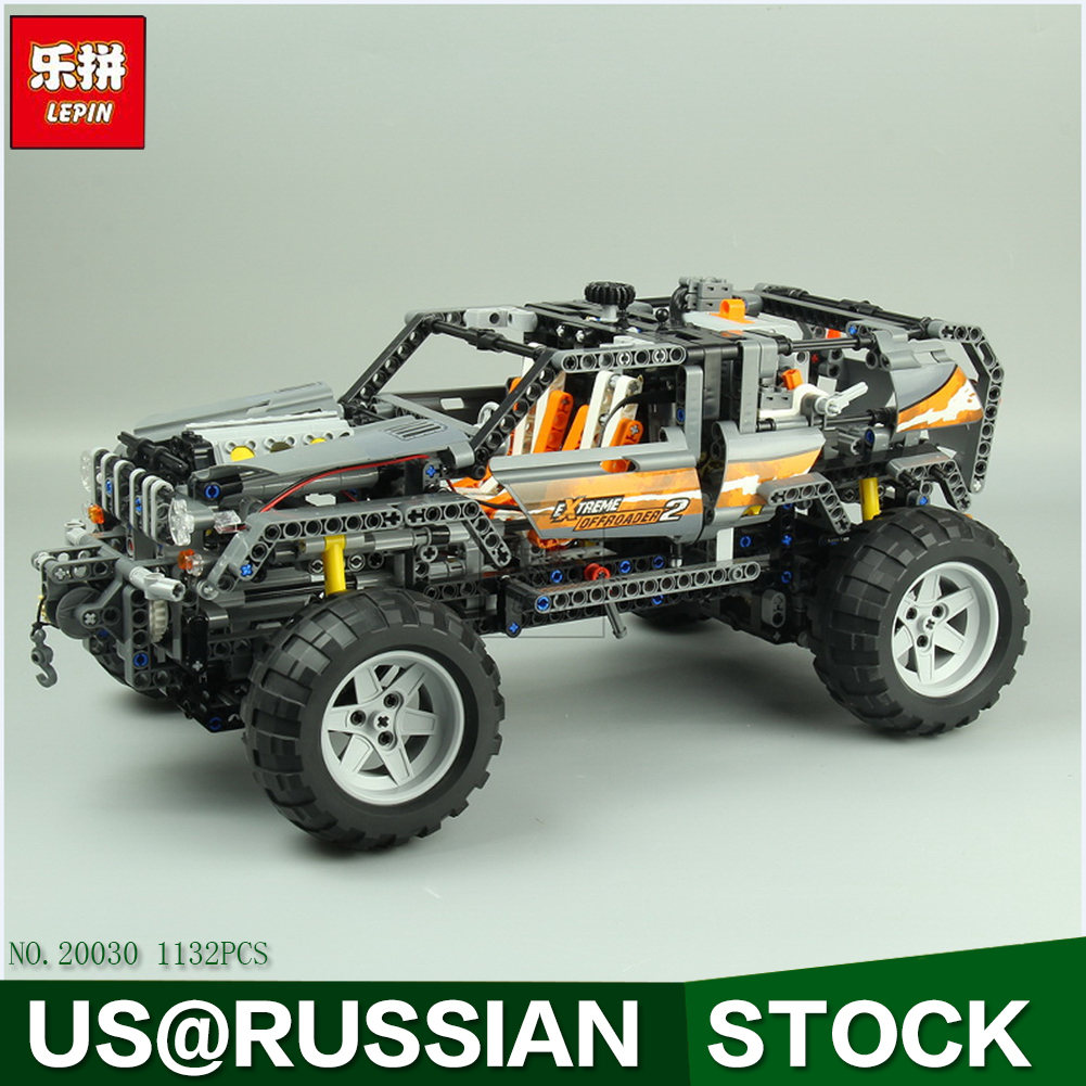 Lepin 20030 1132Pcs Technic Ultimate Series The Off-Roader Set Children Educational Building Blocks Bricks Toys Model Gifts 8297 20030 technic ultimate series the off roader set children building blocks brick toy model gifts competible with legoingly 8297