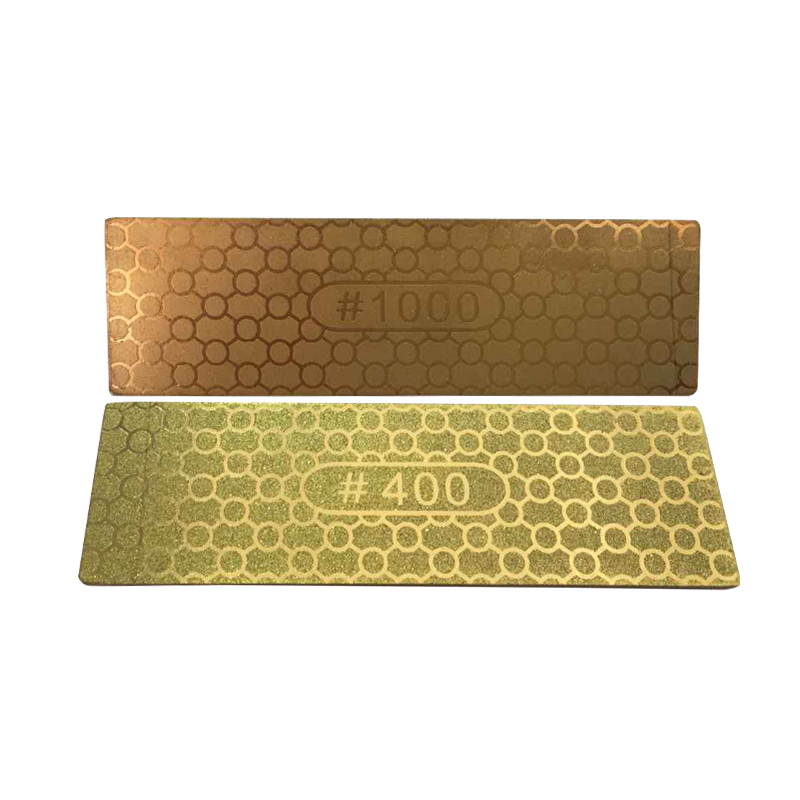 DMD double sided 400 1000 grit Diamond whetstone sharpening stone kitchen  knives garden woodworking tools alibaba free shipping