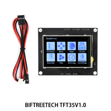 BIGTREETECH TFT35 V1.0 панель управления 3.5 дюймов полноцветный сенсорный ЖК-экран совместимость с платы управления для 3d-принтер МКС TFT