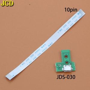 Image 4 - JCD ل PS4 تحكم USB ميناء الشحن شاحن مقبس مجلس مع الشريط فليكس كابل JDS 001 JDS 011 JDS 030 JDS 040 JDS 055