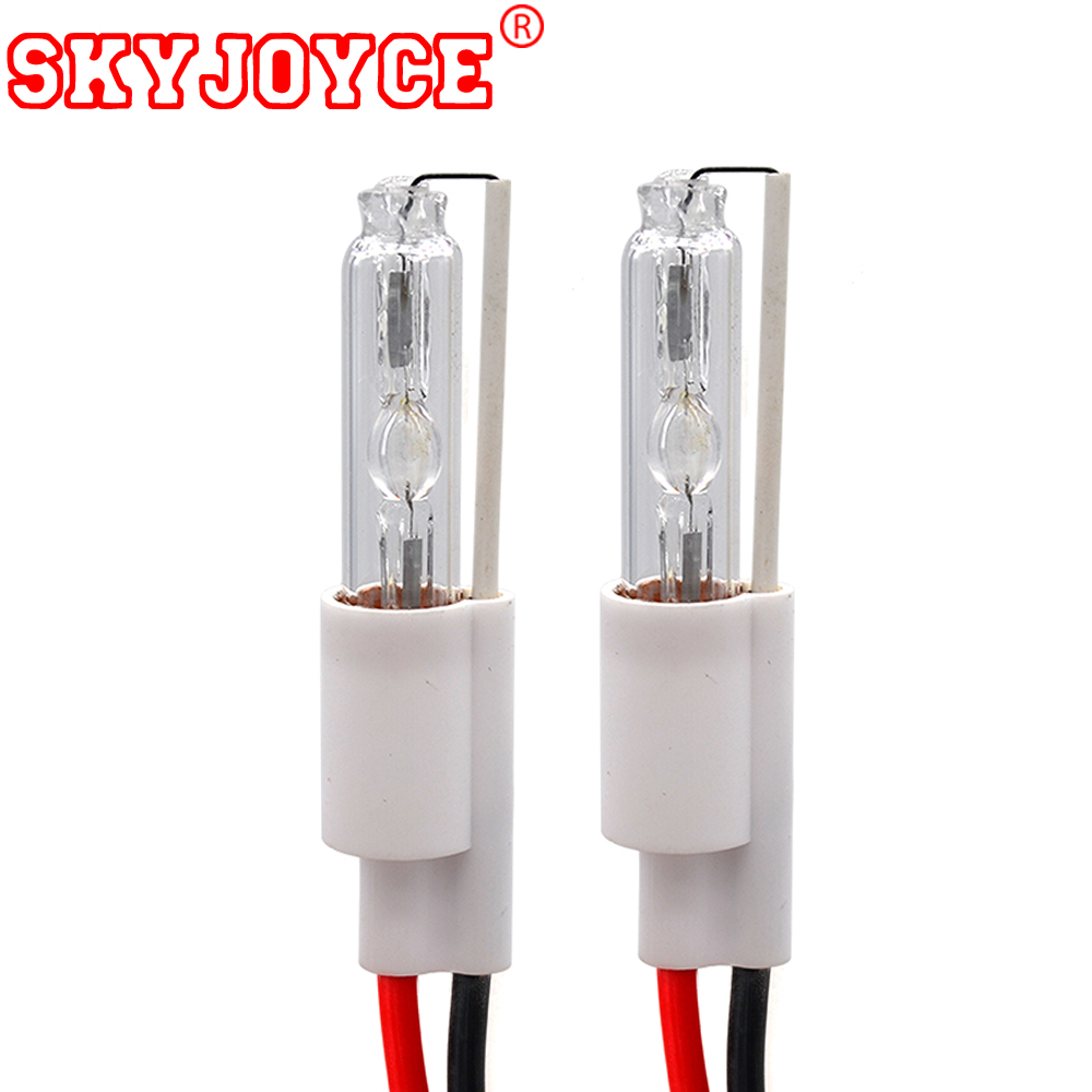 SKYJOYCE 2PCS hid Xenon Bulb replacement for 2.8'' 3'' HID projector - Car Lights