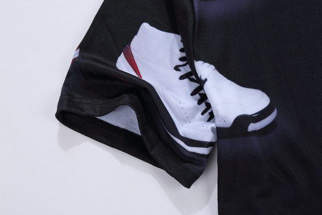 a08d1ac397b1b4 Online Shop Cool! Number 23 Classic Shoes 3D Printed T-shirts Hip ...