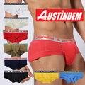 Free shipping!new style brand AUSTINBEM solid briefs fashion underwear men soft cotton pants men's gay underwear men