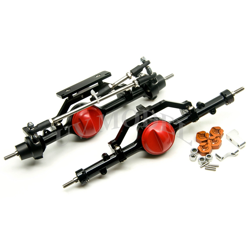 1/10 <font><b>Rc</b></font> <font><b>Car</b></font> <font><b>Full</b></font> Alloy Front And Rear Axle For 1:10 <font><b>Rc</b></font> Crawler D90 AXIAL RC4WD High Quality Free Shipping