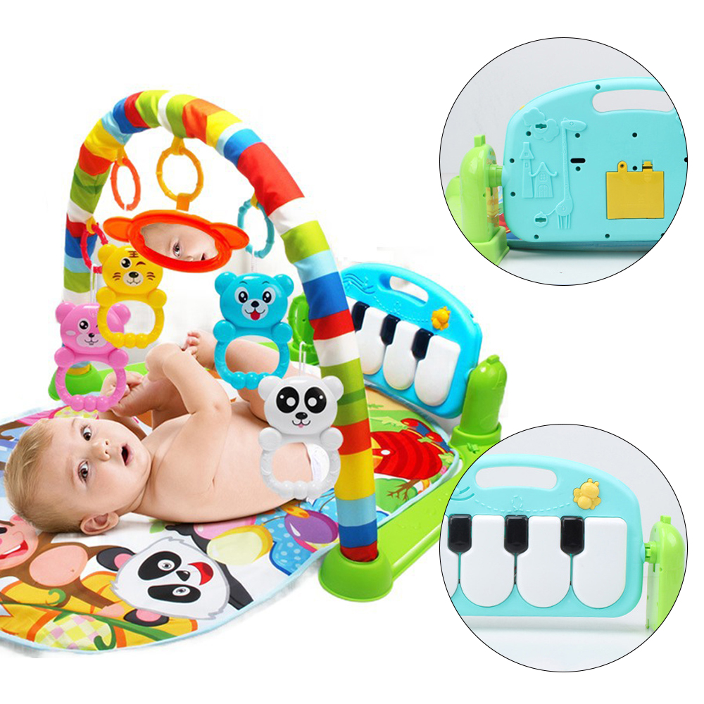 Baby Toys Play Mats Kids Rug Carpet In Nursery Children Play Mat Piano Music Educational Developing Mat Electronic Baby Gym Toys baby developing rug fitness shelf tapete infantil puzzle mat gym play mats toys for kids