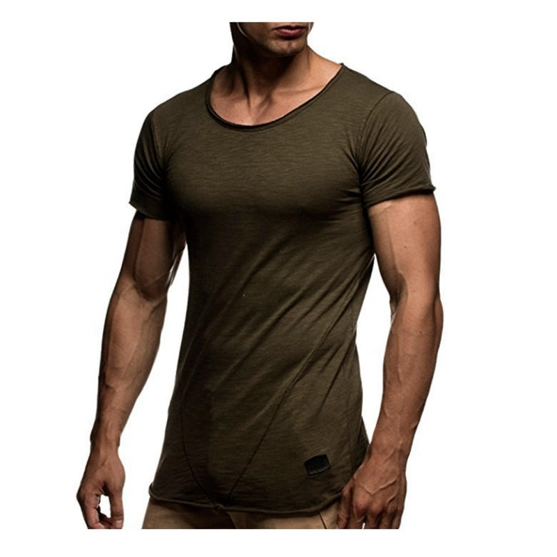 New Men's Summer Splicing Short Sleeve Tshirt mens clothing tees t shirts tee shirt casual homme slim fit t-shirt brand men