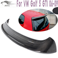 A Type Carbon Fiber Rear Roof Spoiler Wing Lip Fit For VW Golf 5 V MK5 GTI 06-09