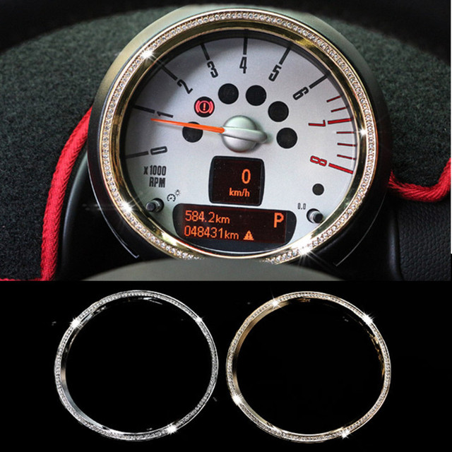 New Luxury Crystal Car Tachometer Accessories For Mini Cooper