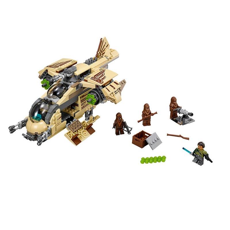 BELA Star Wars 7 Wookiee Gunship Figure War Toys building blocks set marvel compatible with legoe