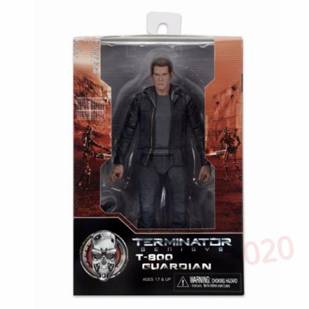 NECA Terminator Genisys 7 Guardian T-800 Action Figure NE009010