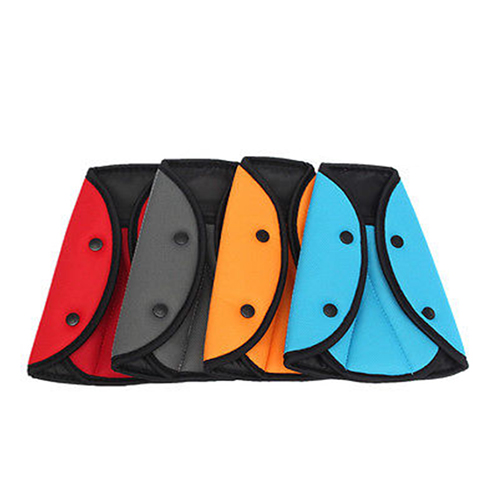 Car Child Safety Cover Harness Strap Adjuster Pad Kids Seat Belt Seat Belt Clip