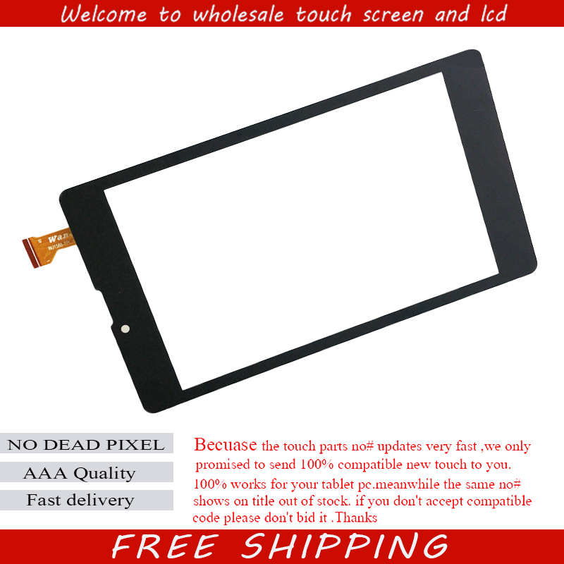 New wj1588-fpc v2.0 For 7'' inch Digma plane 7700t 4g PS1127PL tablet touch screen computer multi touch capacitive panel