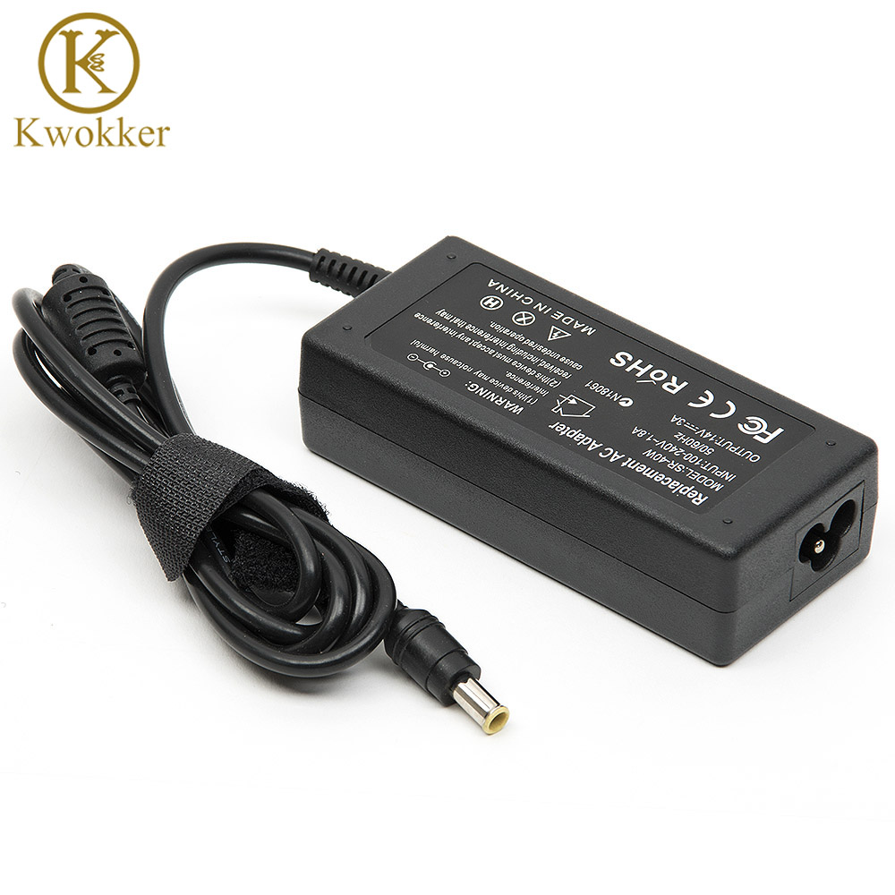 Power Supply 14V 3A AC Adapter Charger For <font><b>Samsung</b></font> LCD Monitor A2514_DPN A3014 AD-3014B B3014NC <font><b>SA300</b></font> SA330 SA350 B3014NC image