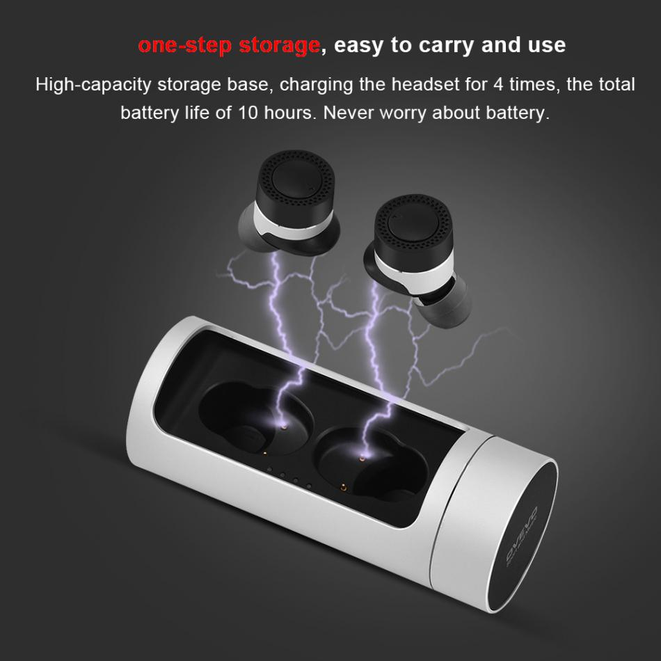 Q62 Dual Mini Wireless Bluetooth 4.2 TWS Stereo Headphone Super Bass Earphone Earbud Headfree