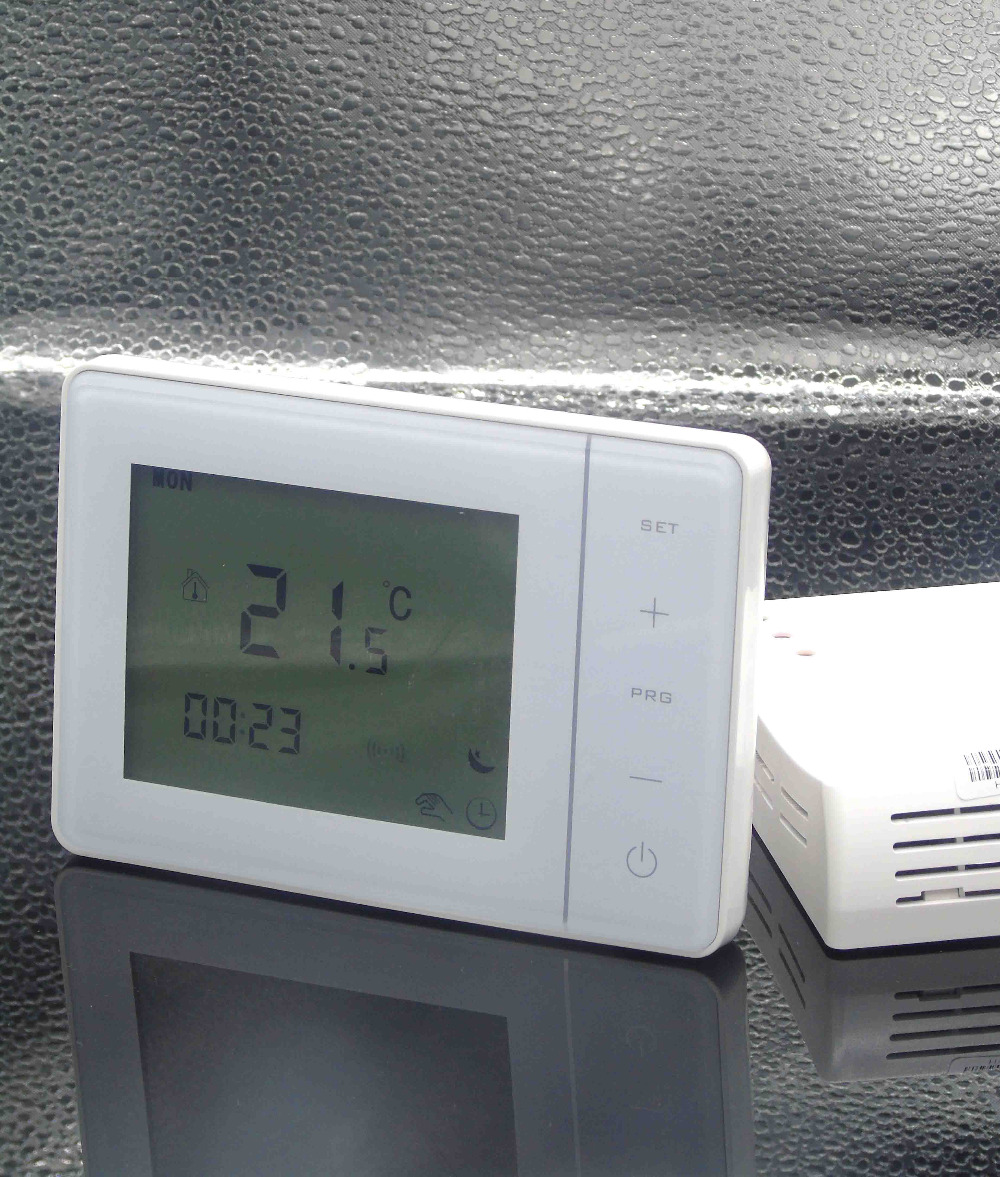 Batteries Power wireless boiler thermostat temperature controller with Programmable taie thermostat fy800 temperature control table fy800 201000
