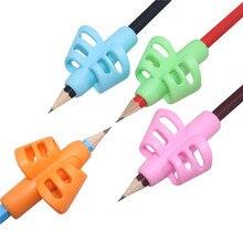 40 stücke Stift grip Griff Doppel Finger Silikon Stift Halter Student Writing Stift Korrektur Gerät Kinder Schreibwaren Geschenke