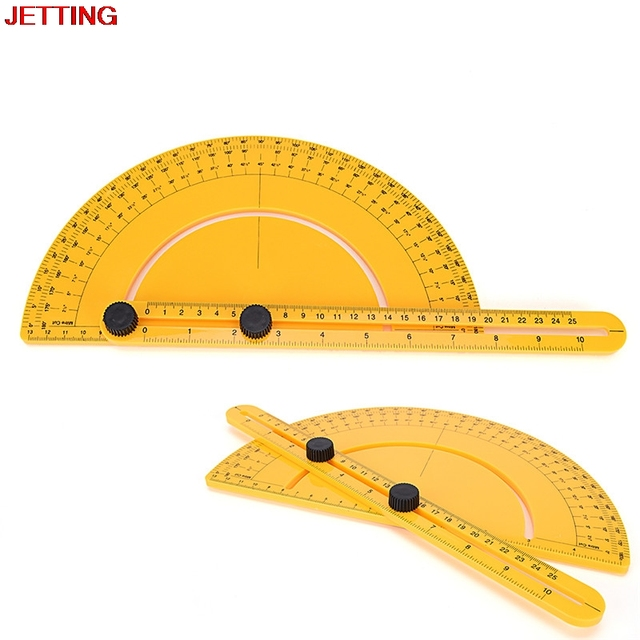 Multi Angle Protractor Ruler Angle Izer Template Tool Angle Finder