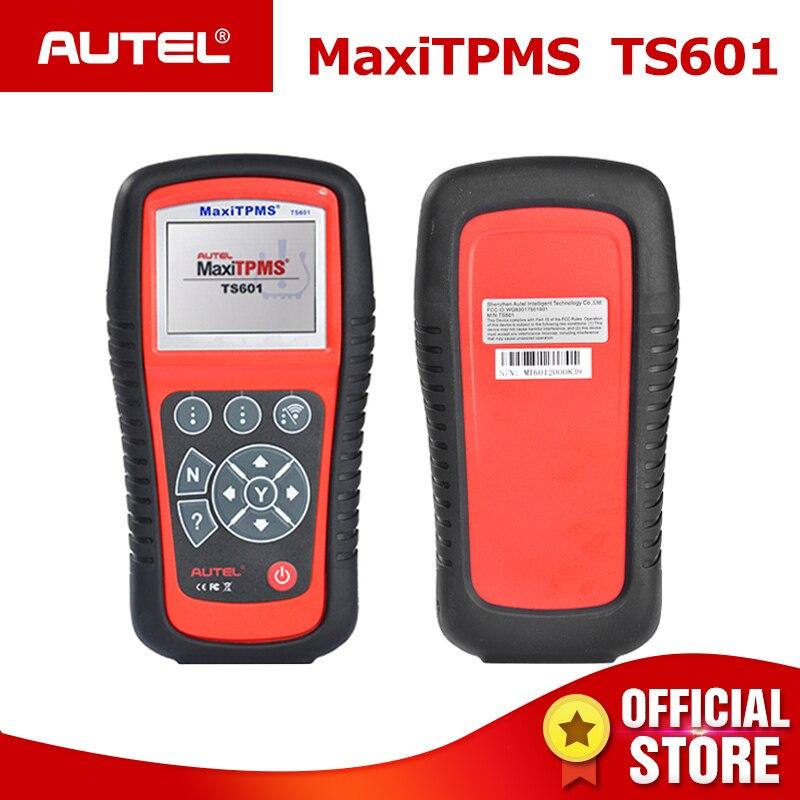 Autel MaxiTPMS Ferramenta TPMS Reaprender TPMS Sem Fio do Sensor De Reset TS601 Ativar a Programação com OBD2 Leitor de Código de diagnóstico scanner