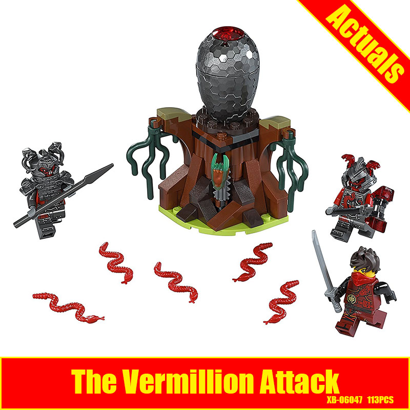 Lepin 06047 The Vermillion Attack assembled Building Blocks Bricks Figures Toys compatible Ninja 70621