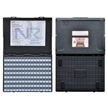 Антистатическая компонентная коробка пластиковая коробка SMT чип резистор конденсатор коробка для хранения и органайзеры электронный компонент чехол для хранения