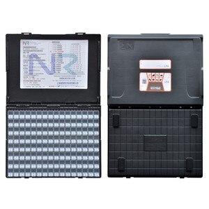 Caja de componentes antiestáticos caja de plástico SMT caja de almacenamiento de Resistores de chip y organizadores caja de almacenamiento de componentes electrónicos