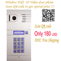 DIY Home Access Door Open Remote Control Camera Doorbell Wireless Wifi IP Video Door Phone,Wireless IP Intercom