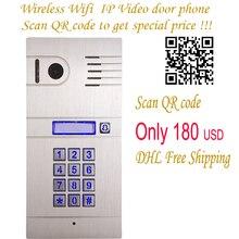 DIY Casa Puerta de Acceso Abierto Control Remoto Timbre de La Cámara Inalámbrica Wifi IP Videoportero, IP Inalámbrica de Intercomunicación